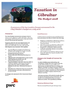 Gibraltar - Taxes on personal income - PwC
